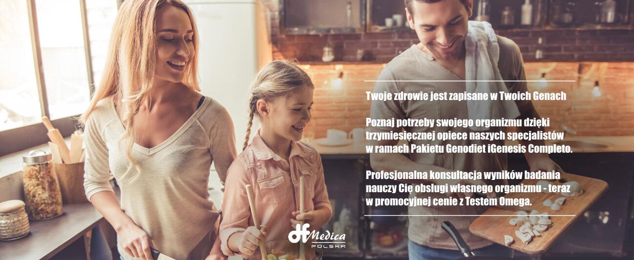 Promocja badania nutrigenetycznego iGenesis Completo
