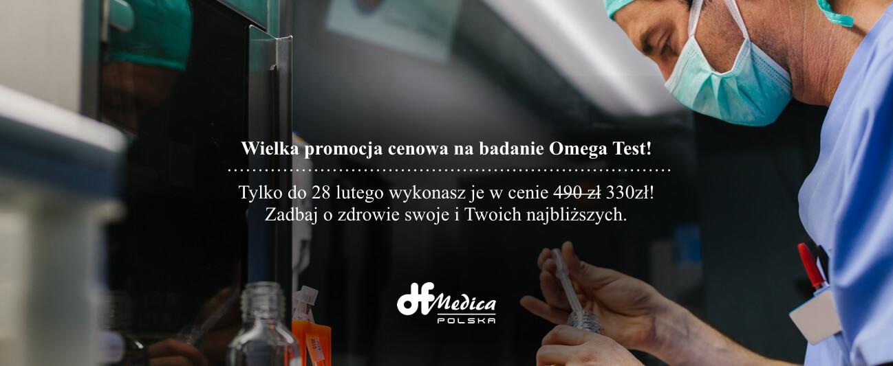 Promocja badanie Omega DF MEDICA POLSKA